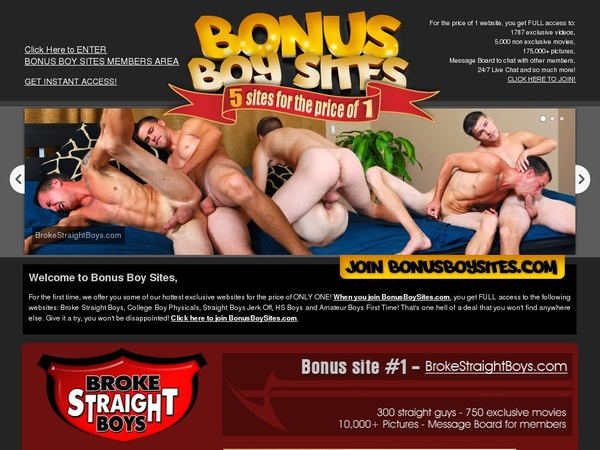 Bonus Boy Sites Take Paypal