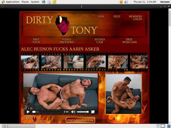 Dirtytony.com Limited Time Offer