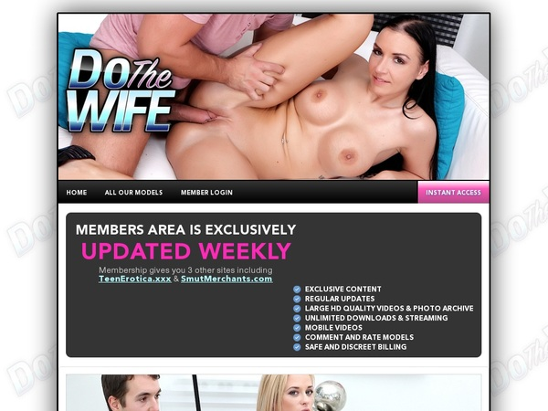 Do The Wife Free Preview