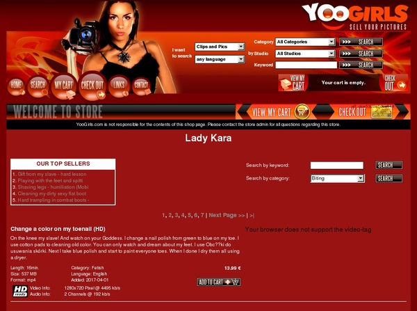 Yoogirls.com Websites