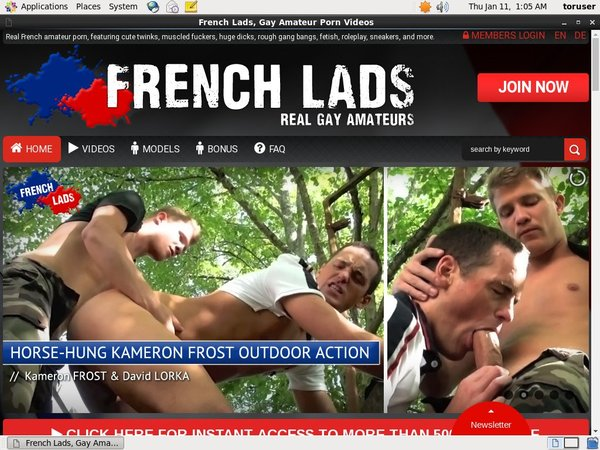 French Lads Free Trial