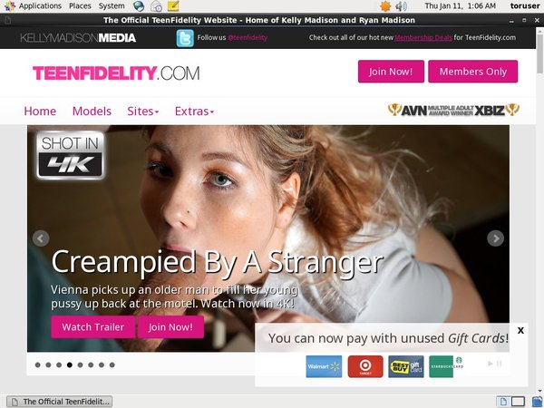 Buy Teenfidelity.com Account