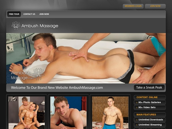 Ambushmassage.com Payment Form