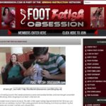 Free Foot Fetish Obsession Video